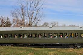 all aboard ride the train