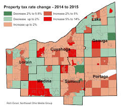 Cities In Ohio Map by Property Tax Rates For 2015 Up For Most In Greater Cleveland Akron