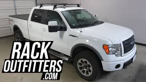 Ford F250 Truck Roof Rack - ford f150 supercrew yakima baseline jetstream roof rack crossbars