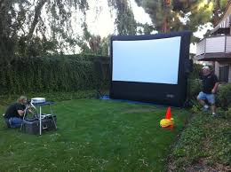 outside movie screen best 25 outdoor movie screen ideas on