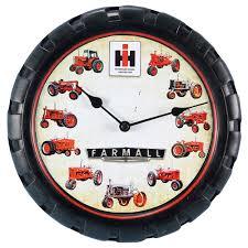 case ih home decor farmall wall clock shopcaseih com