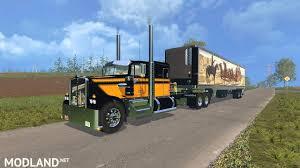 2015 kenworth truck kenworth w900a u0026 semitrailer bandit edition mod for farming