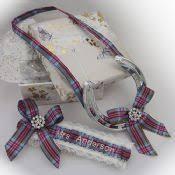 personalized horseshoe set personalized pride of ireland wedding garter and horseshoe set a