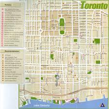 eaton centre floor plan toronto tourist map toronto mappery