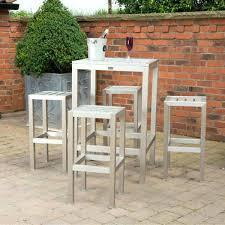 Garden Bar Table And Stools Garden Bar Table And Stools Outdoor Bar Table Cable Drum Garden