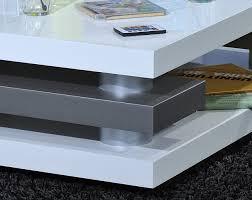 table basse design blanc laqué joss table basse design table
