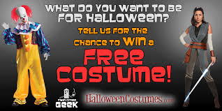 win a free costume of your choice from halloweencostumes com