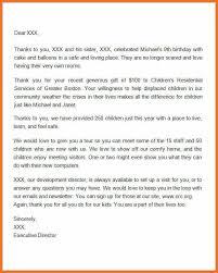 donation letter sample artresume sample