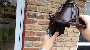 how to install an outdoor wall light omg how hard is it to install a porch light youtube