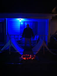 Haunted Outdoor Halloween Decorations by 206 Best Halloween Decorating The Outside Images On Pinterest