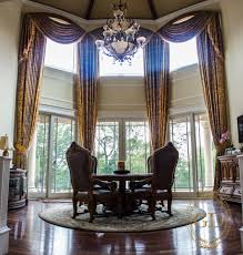 Dining Room Window Coverings by High Window Treatments Window Treatments For High Windows