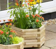 marford hexagonal planter set gardensite co uk