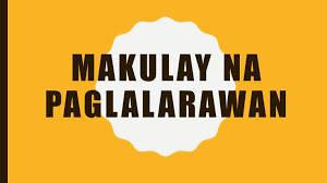 makulay na paglalarawan