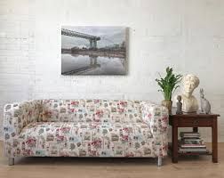 sofa flower print etsy your place to buy and sell all things handmade