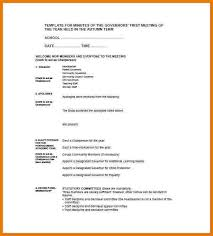 8 meeting minutes examples assistant cover letter