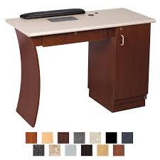 manicure table with vent kaemark reflections nail table w vent