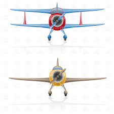 airplane front view clipart clipartxtras