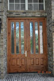 Double Glazed Wooden Front Doors by Articles With Double Glazed Front Doors With Side Panels Tag