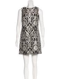 abstract pattern sleeveless dress alice olivia abstract print sleeveless dress w tags clothing