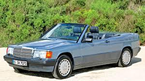 mercedes benz 190 e cabriolet prototype w201 u00271989 youtube