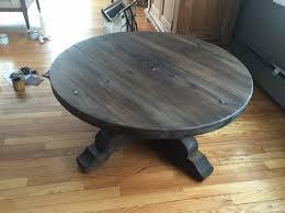 refinishing a coffee table restoration hardware wannabe
