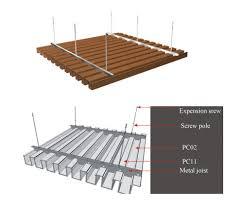 modern false composite wood ceiling outdoor ceiling buy morden