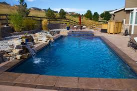 backyard pool and spa integrity pool builders