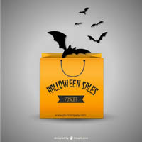 Halloween Sales Halloween Sales Tags Vector Free Vector Download In Ai Eps