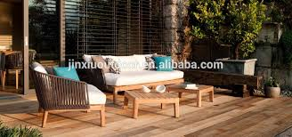 Teak And Stainless Steel Outdoor Furniture by High End Hotel Project Teak Stainless Steel Outdoor Furniture Sofa