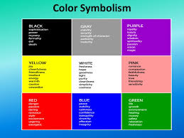 Black Purple Pink Green Peace by Color Symbolism Directions Brainstorm A List Of Connotative