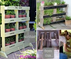 Diy Vertical Pallet Garden - diy recycled pallet garden planting tutorial