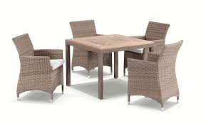 half round dining table bali 4 half round wicker teak dining table with chairs setting
