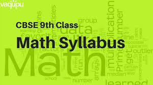 class 9 math syllabus 2017 2018 revised by cbse