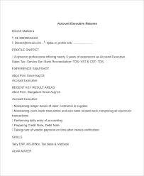 59 executive resume templates free u0026 premium templates