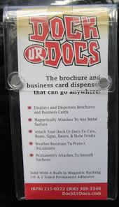 Magnetic Business Card Holder Business Gift The Gift That Keeps On Giving Business Card