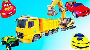 excavator for children trucks for kids car toys kids videos