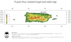 Maps Of Puerto Rico by Map Puerto Rico Ginkgomaps Continent South America Region