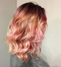 pink highlighted hair over 50 41 rose gold hair color ideas that will change your life