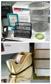 Diy Office Desk Accessories by Gold Desk Accessories On A Budget 100 Things 2 Do