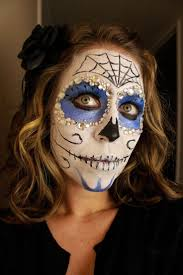 Halloween Makeup Dia De Los Muertos 19 Best Skull Faces Images On Pinterest Sugar Skulls Sugar