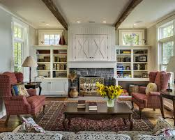 Houzz Bookcases Bookcases Flanking Fireplace Houzz