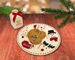 2 santa s milk and cookie set fao schwarz