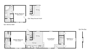 the woodland i ff16642a manufactured home floor plan or modular