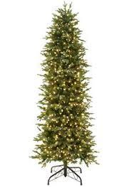 classic pine pre lit pencil tree artificial