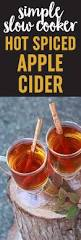 halloween drinks kid friendly spiced apple cider in the slow cooker kitchen treaty