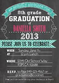 8th grade graduation invitations 8th grade graduation invitations marialonghi