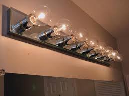 4 bulb bathroom light fixtures t8 bulb light fixtures ceiling fixture led fluorescent lowes