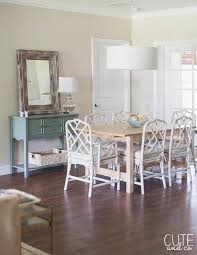 dining table with white chairs