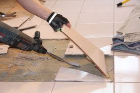 How To Remove Adhesive From Laminate Flooring How To Remove A Tile Floor And Underlayment A Concord Carpenter