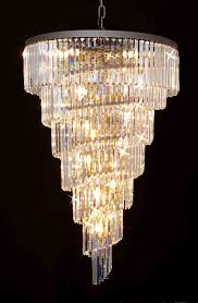 g7 1100 9 gallery chandeliers retro odeon crystal glass fringe 3
